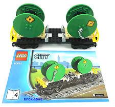 LEGO City/Chemin de fer 60052 Câble Voiture/Wagon marchandises/Chariot transport
