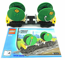 LEGO® City/ Eisenbahn (60052) Kabel Waggon / Güterwaggon / Transportwaggon