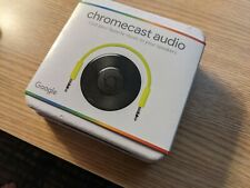 Google Chromecast Audio Media Streamer NEW IN SEALED BOX