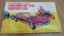 Brooke Bond Tea 'History Of The Motor Car' Album + All Cards