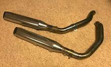 Exhaust Muffler Pipes off 2008 Harley Davidson Nightster Sportster
