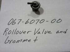 Bad Boy 067-6070-00.  Rollover Valve and Grommet New.  Replaces 067-6052-00.