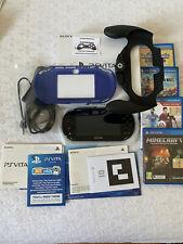 Ps Vita Sony 2004+cover+caricatore+gamepad+4giochi/ PERFETTE CONDIZIONI (usato)