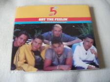 FIVE - GOT THE FEELIN' - 4 TRACK UK CD SINGLE - 5IVE
