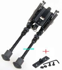 "6"" - 9"" Harris Style Bipod Adjustable 50 Degree swivel & M-LOK MLOK Rail Sling"