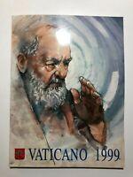 1999 Vaticano Libro Folder Album Ufficiale Completo Yearbook Vatican Complete