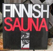 FINNISH SAUNA BOOK ALLAN KONYA HB DJ ©1987 LAYOUT MATERIALS DESIGN CONSTRUCTION
