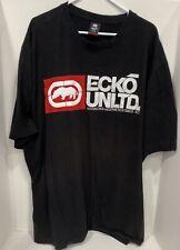Ecko Unltd. Tee T-Shirt Short Sleeve Crew Neck Black Big & Tall Size 4XLT