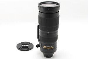 【MINT+++】Nikon AF S 200-500mm f/5.6 E ED VR Lens From JAPAN