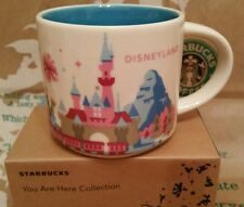 Starbucks Coffee Mug/Tasse/Becher DISNEYLAND You Are Here/YAH, NEU in OVP-BOX!!!