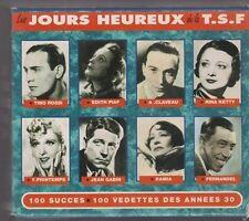 Coffret CD LES JOURS HEUREUX DE LA TSF 100 succès 100 vedettes 5 CD