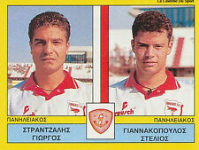 N°447 PLAYERS PANILIAKOS FC GREECE PANINI GREEK LEAGUE FOOT 95 STICKER 1995