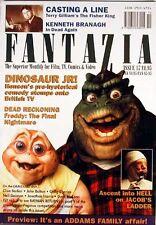 Fantasia/Academy #17- British Mag-Jim Henson Dinosaurs