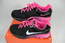 New Womens 12 NIKE Lunar Forever NT Black Pink Dynamic Shoes $85 488163-001