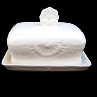 Tabletops Unlimited FLORENTINE Covered Butter Dish EXCELLENT