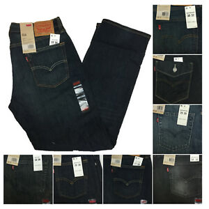 Levi's Levi Strauss Mens 514 Straight Leg Slim Fit Denim Jeans Pants