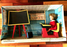 World Of Penny Brite Schoolroom On Cardboard Box.