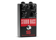 Seymour Duncan Studio Bass Compressor Guitar Effects Pedal