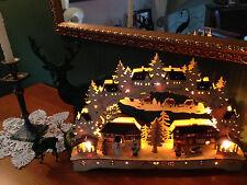 3D LED Schwibbogen Lichterbogen Erzgebirgische Tradition 84073 SCH
