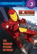 The Crimson Dynamo Returns! (Marvel: Iron Man) (Step into Reading)-ExLibrary