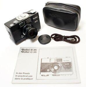 Rollei 35 B | Triotar 40mm f/3.5 | 35mm Film Camera | Very Good Condition.