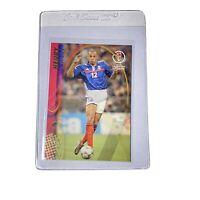 Theirry Henry #62 France 2002 Panini FIFA World Cup Korea & Japan Card