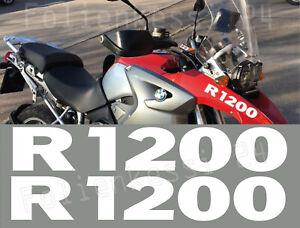 BMW Motorrad R1200 GS 2 Aufkleber Schnabel Logo Sticker Decal Farbwahl BM085