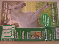 ** Cheval Santé n°4 pure race espagnol / Le percheron / Pêcheurs à cheval