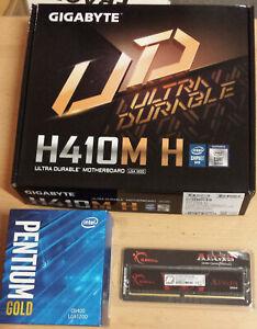 Aufrüstkit Intel Pentium Gold G6400 So. 1200, Gigabyte MB u. 8 GB DDR4