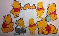 """Winnie The Pooh Die Cut 5"""" H You Choose"""