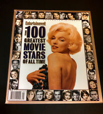 Entertainment Weekly Movie Magazine Marilyn Monroe Cover 100 Greatest Stars