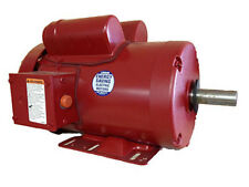 "1.5HP 1PH 1725RPM 56HZ 115/230V 7/8"" SHAFT TEFC LEESON FARM DUTY MOTOR #113938"