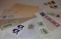 Ersttagsbriefe Umschläge Karten Schmuckbriefe Luftpost usw 50 Stück  053