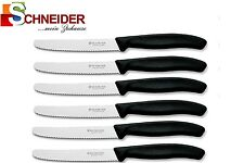 6x Victorinox-tomates cuchillo-brötchenmesser-cuchillos de cocina-todos los colores