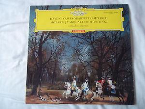 SLPM 138886 Haydn/Mozart: String Quartets/Amadeus Quartett/NM/EX