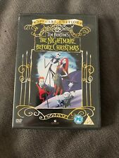 New & Sealed Tim Burton's The Nightmare Before Christmas Dvd Special Edition