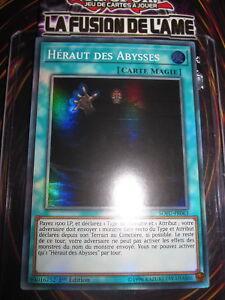 YU-GI-OH! SUPER RARE HERAUT DES ABYSSES SOFU-FR063 NEUF EDITION 1 FRANCAIS