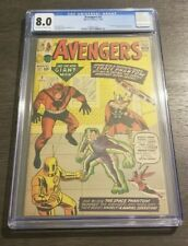 Avengers # 2 CGC 8.0 Off White to White Pages. Blue Label
