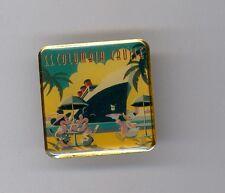 Tokyo Disney Japan Donald Duck Serving Mickey & Minnie S.S. Columbia Cruise Pin