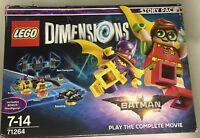 LEGO DIMENSIONS BATMAN FILM MOVIE STORIA 71264 INCLUDE BONUS MINIFIGURE
