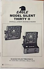 HUMMINBIRD DEPTH SOUNDER INSTALLATION INSTRUCTIONS  MANUAL, SILENT THIRTY II