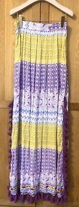 Raga Full Length Hippy Boho Skirt Size: M Worn Twice