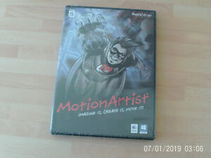 Motion Artist  Imagine It  Create It  Move it & poser debut  PC&Mac  new&sealed