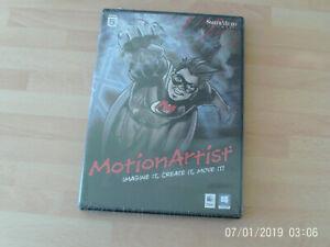 Motion Artist  Imagine It Create It Move it & poser debut  PC&Mac new&sealed  /