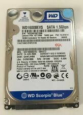 "Hard Disk 2,5"" WD 1600 BEVS HDD 160GB SATA 1 WD BLUE Scorpio Western Digital"
