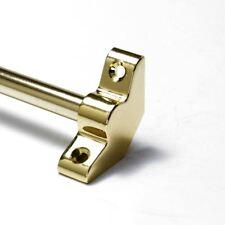 """13 X Polished Brass Stair Rods - 3/8"""" x 36"""" - Simplicity -  Plain Bracket"""