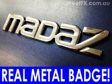 MADAZ !!!! Mazda Genuine Metal Badge for 1300 3 6 2 323 RX bravo 808 wagon coupe