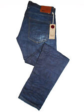 RARE Red Seal by Replay W33 L34  RRP £390 Raw Italian Selvedge Denim Jeans