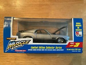 1998 Tootsietoy Muscle Cars 1970 Boss Mustang Limited Edition Die Cast Car
