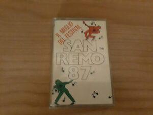 MC Musicassetta FESTIVAL SANREMO 1987 Rarita'  OTTIMA musica italiana